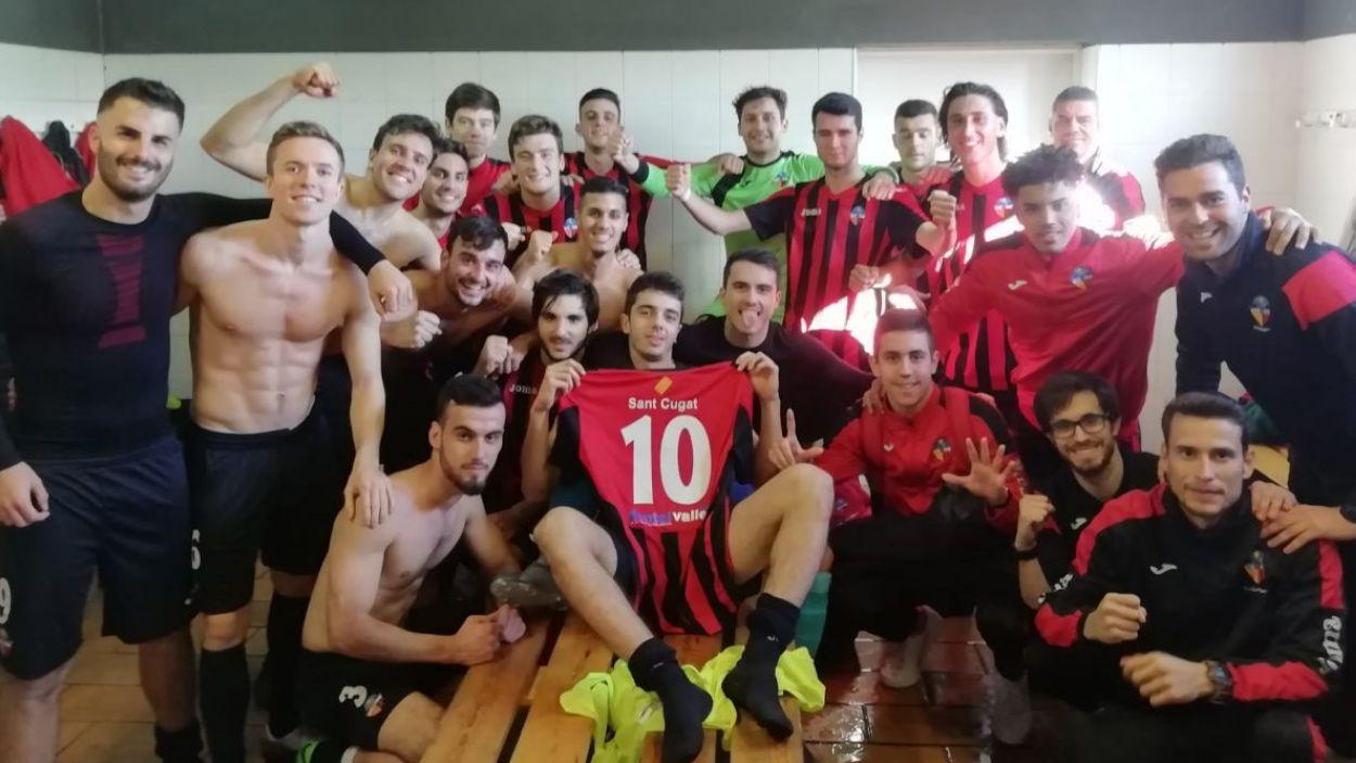 Clar domini santcugatenc al grup 3 de la Segona Catalana de futbol