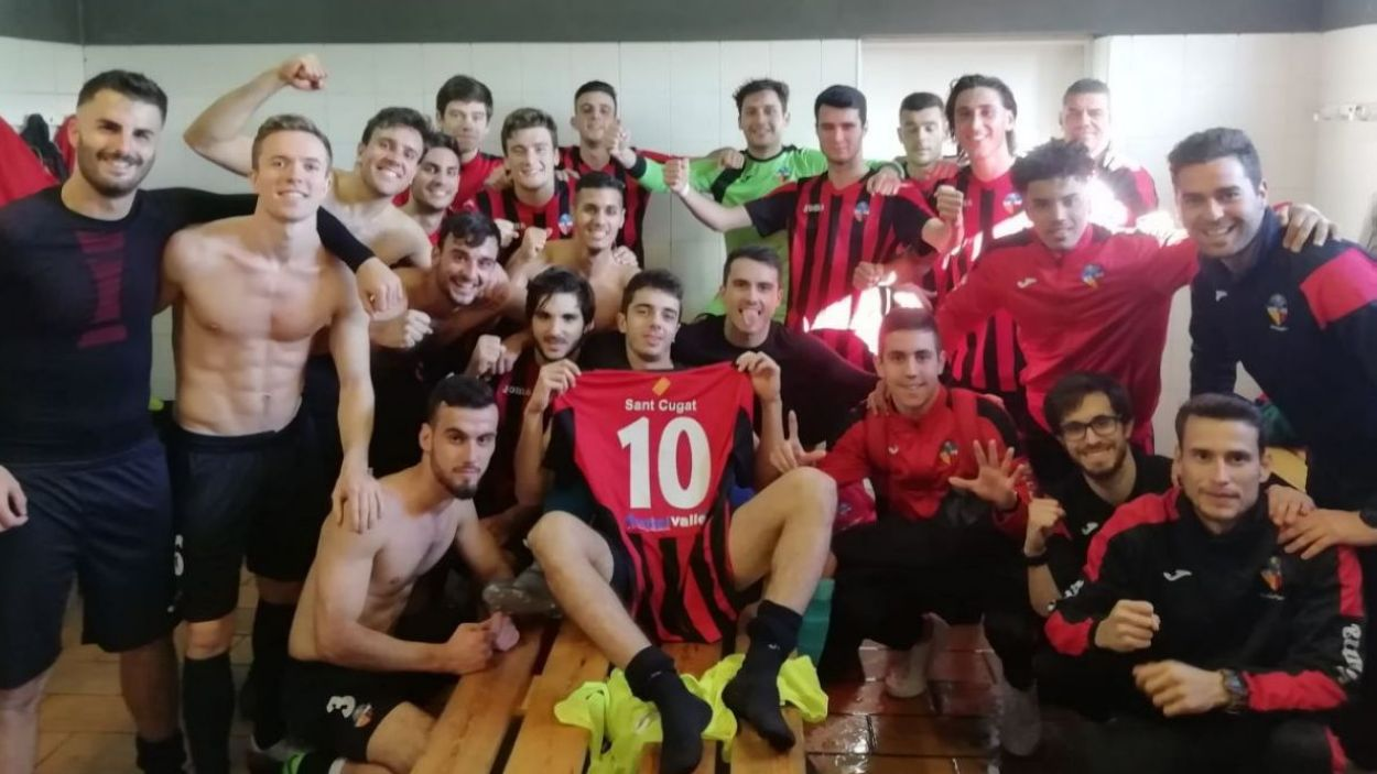 El SantCu ja és nou equip de Primera Catalana / Fonrt: Cedida