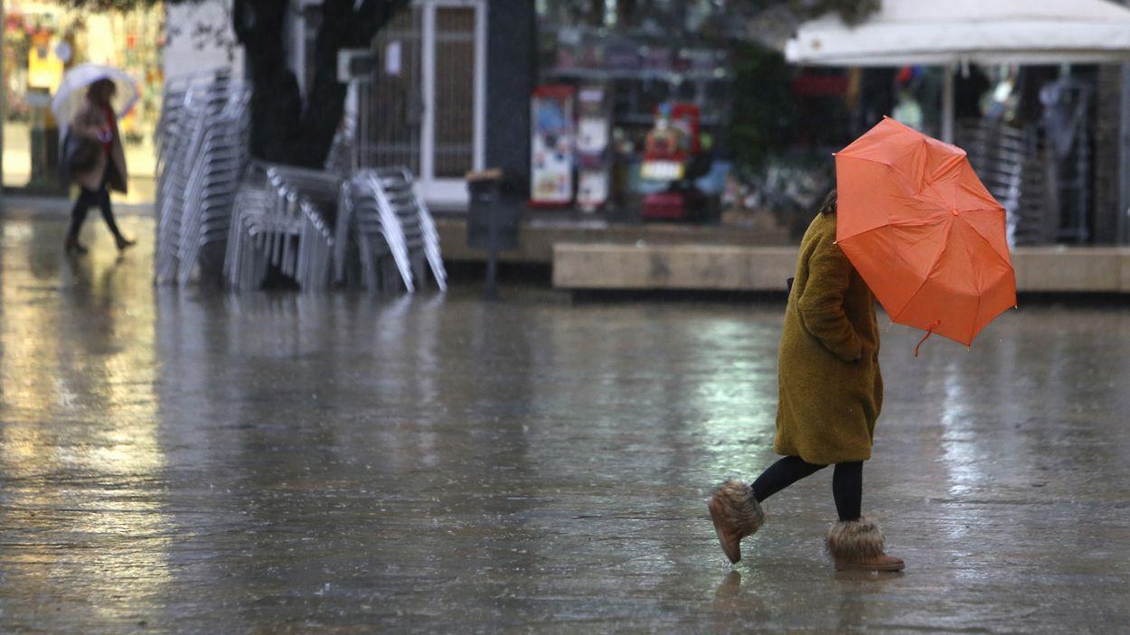 El pas del temporal per Sant Cugat deixa poques incidències / Foto: Cugat Mèdia (Lluís Llebot)