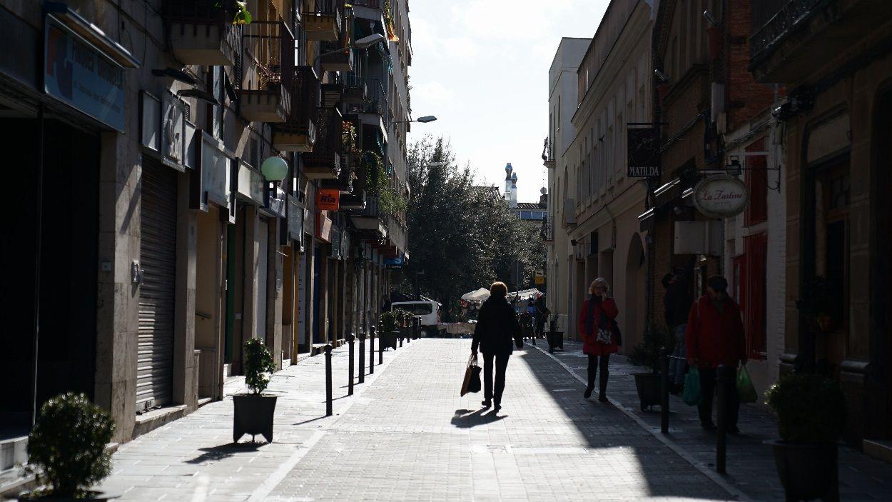 Imatge d'arxiu d'un carrer de Sant Cugat / Foto: Guillem Babitsch - Cugat Mèdia