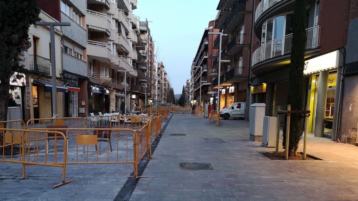 La nova avinguda Cerdanyola / Foto: Ajuntament de Sant Cugat