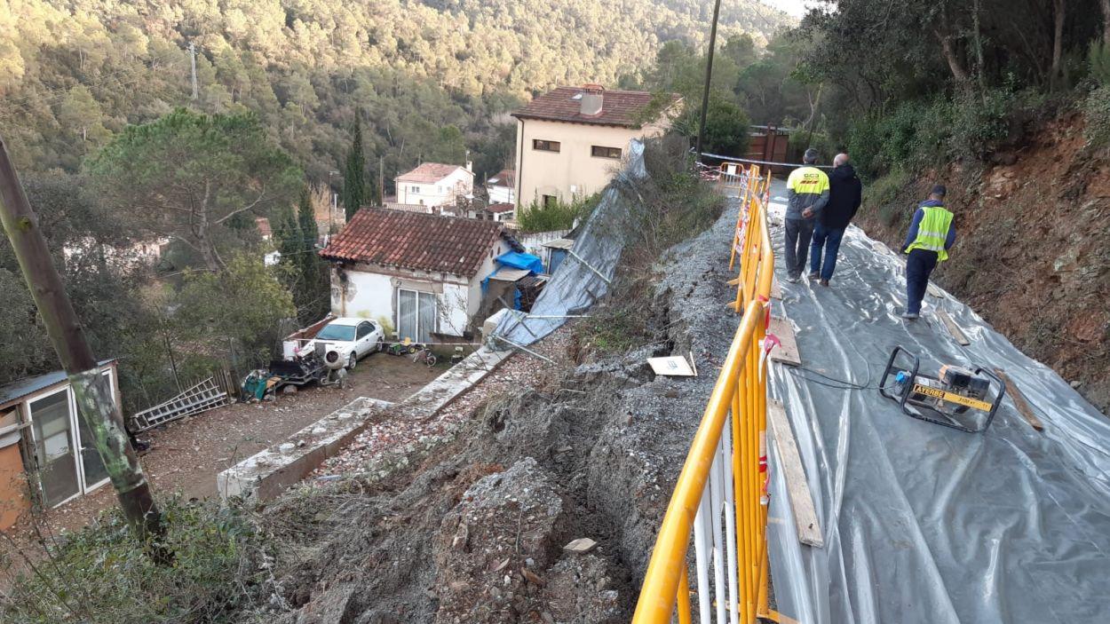L'Ajuntament està fent una actuació d'emergència / Foto: Ajuntament de Sant Cugat