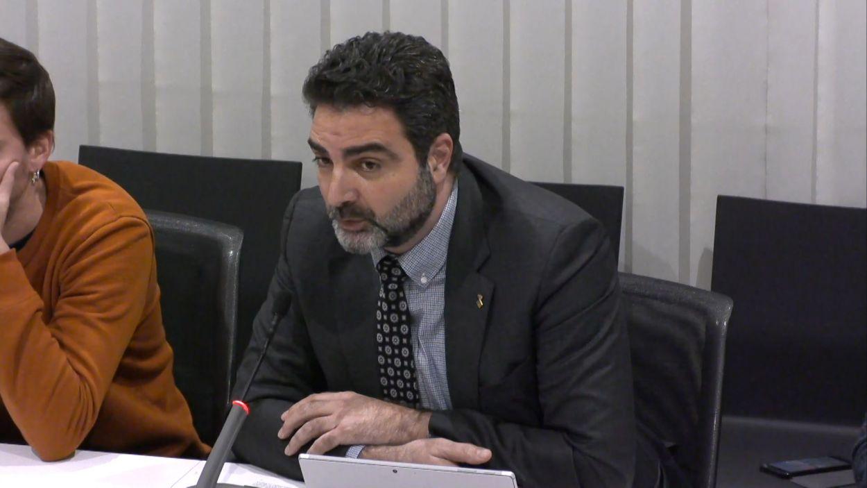 Aldo Ciprian, portaveu de Cs Sant Cugat / Foto: Cugat Mèdia