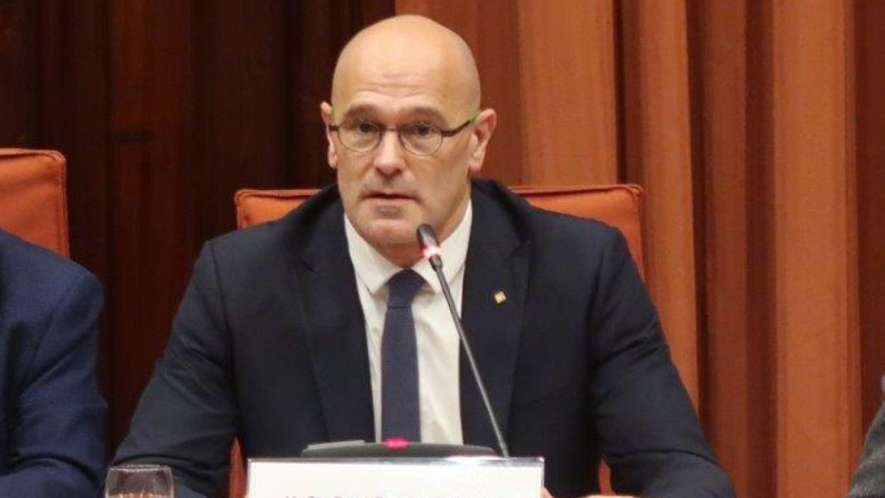 Rebuda institucional a l'exconseller Raül Romeva