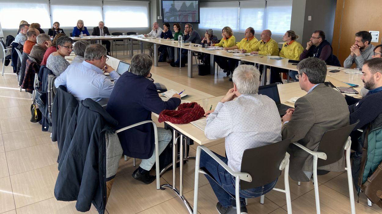 Reunió del Comitè d'Anàlisi i Seguiment de Malalties Transmissibles emergents d'Alt Risc / Foto: Conselleria de Salut