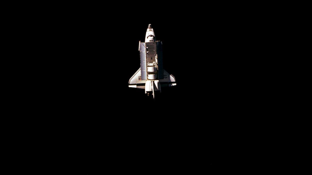 El transbordador Challenger, un dels protagonistes de la secció / Foto: NASA