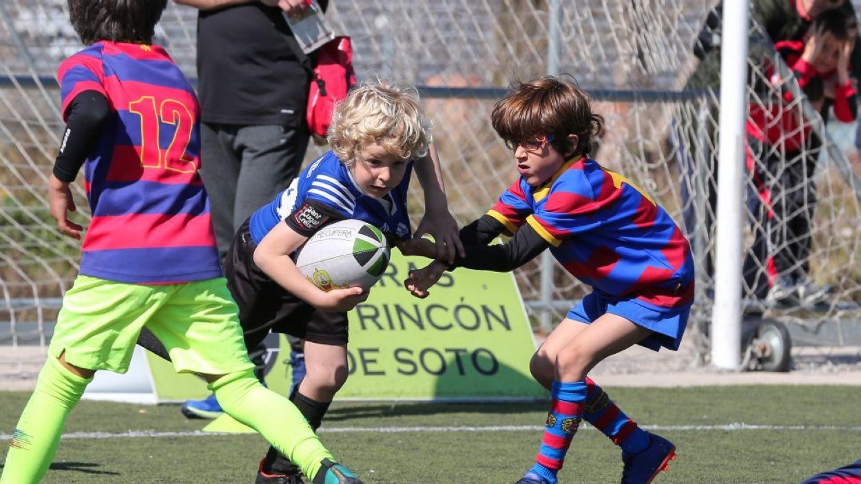 Imatge de la darrer edició del torneig Jon Reca / Font: Rugby Sant Cugat
