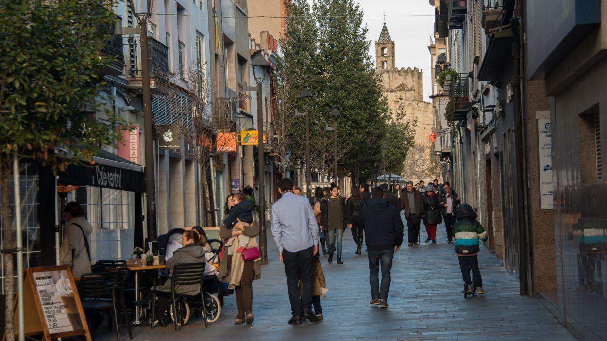 Els santcugatencs, satisfets de viure a la ciutat / Foto: Localpres
