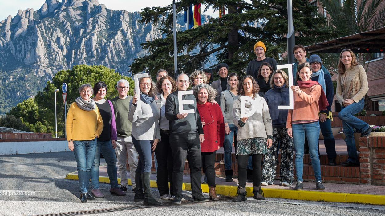 EdBuilding celebra els seus cinc anys d'història amb una reunió a Collbató/ Foto: Cedida per Susana Garcia
