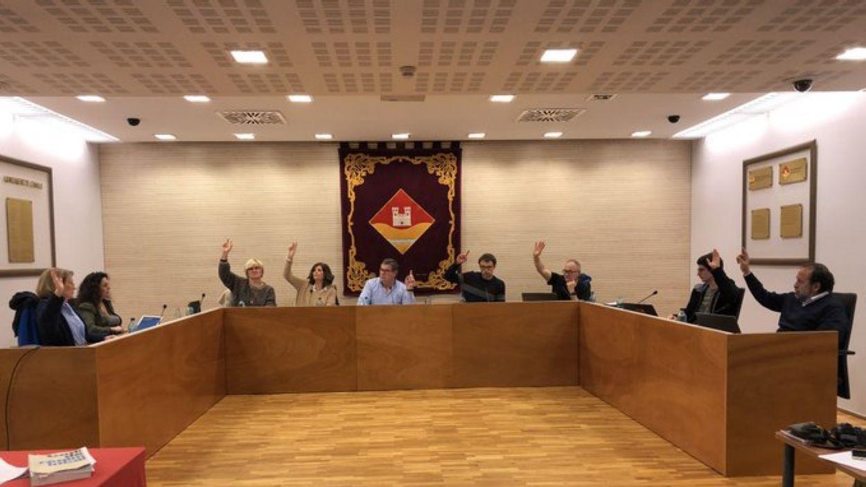 Darrera sessió de la junta de veïns / Foto: EMD