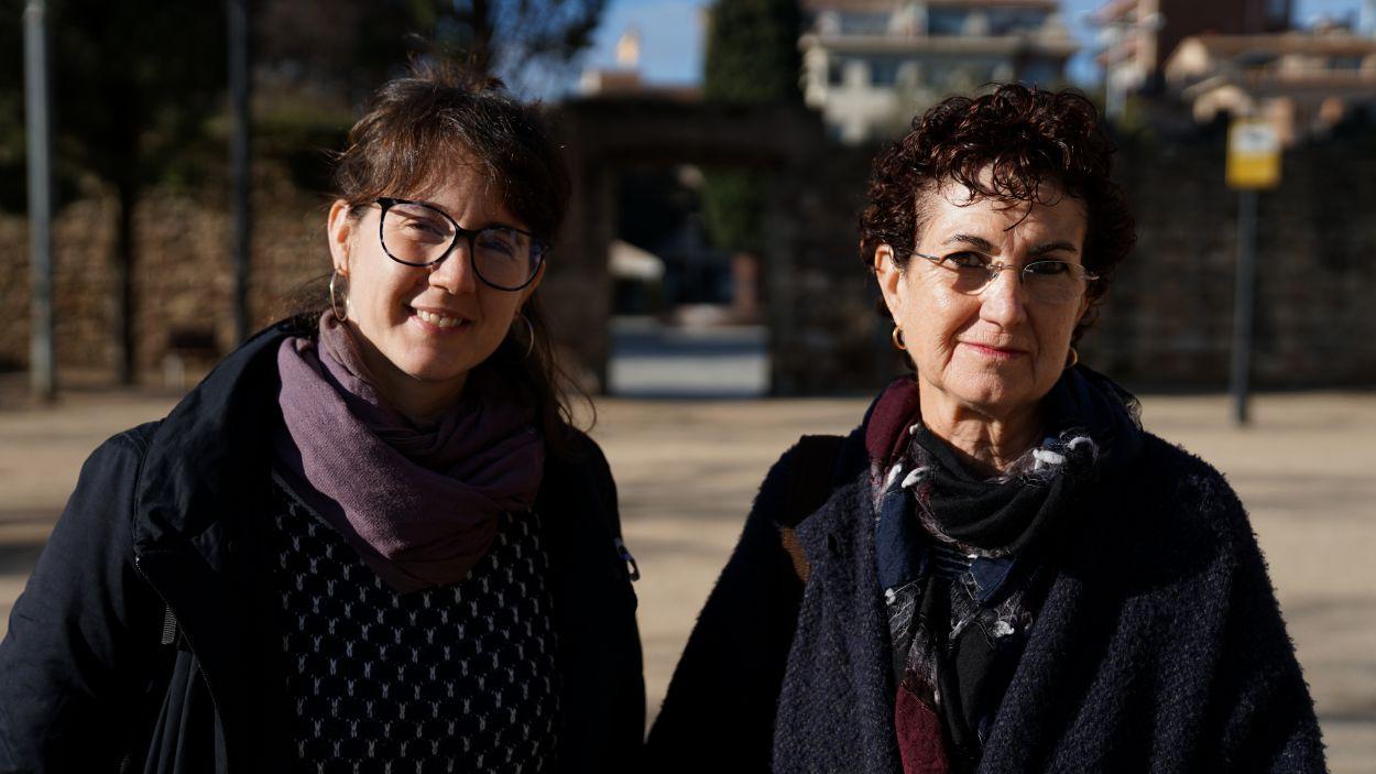 Mònica Pérez i Neus Sotomayor / Foto: Guillem Babitsch (Cugat Mèdia)