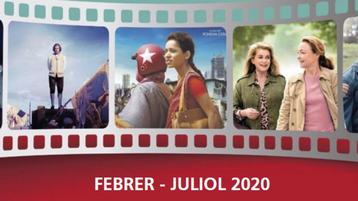 Cicles Cinema Sant Cugat, de febrer a juliol 2020