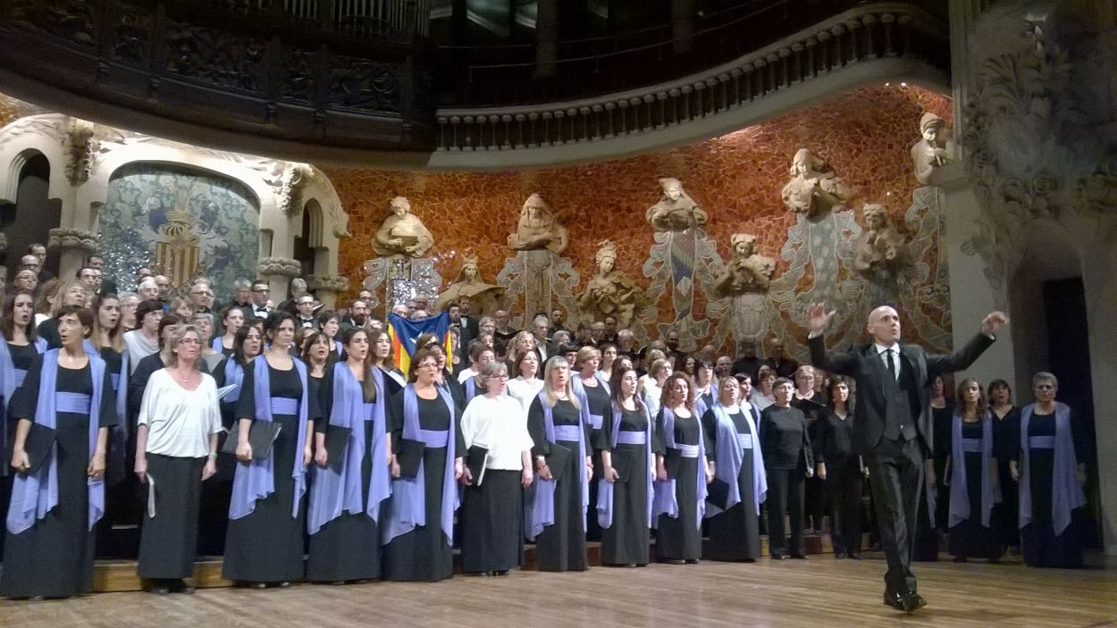 L'Orfeó Català, en una actuació / Foto: Josep Renalias