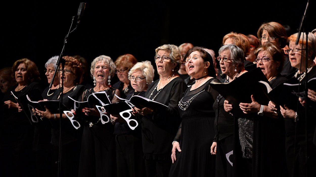 Imatge d'una edició anterior del 'Canta Gran!' a Sant Cugat / Foto: Localpres