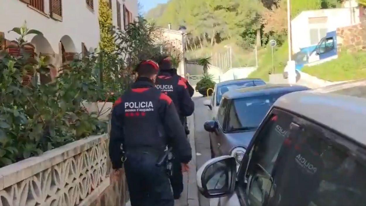 L'operació ha tingut lloc a 13 municipis de Catalunya i Menorca / Foto: Twitter Mossos