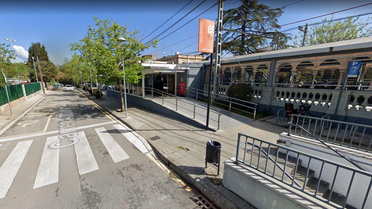 L'estació de Ferrocarrils vista des del carrer Andana / Foto: Google Maps