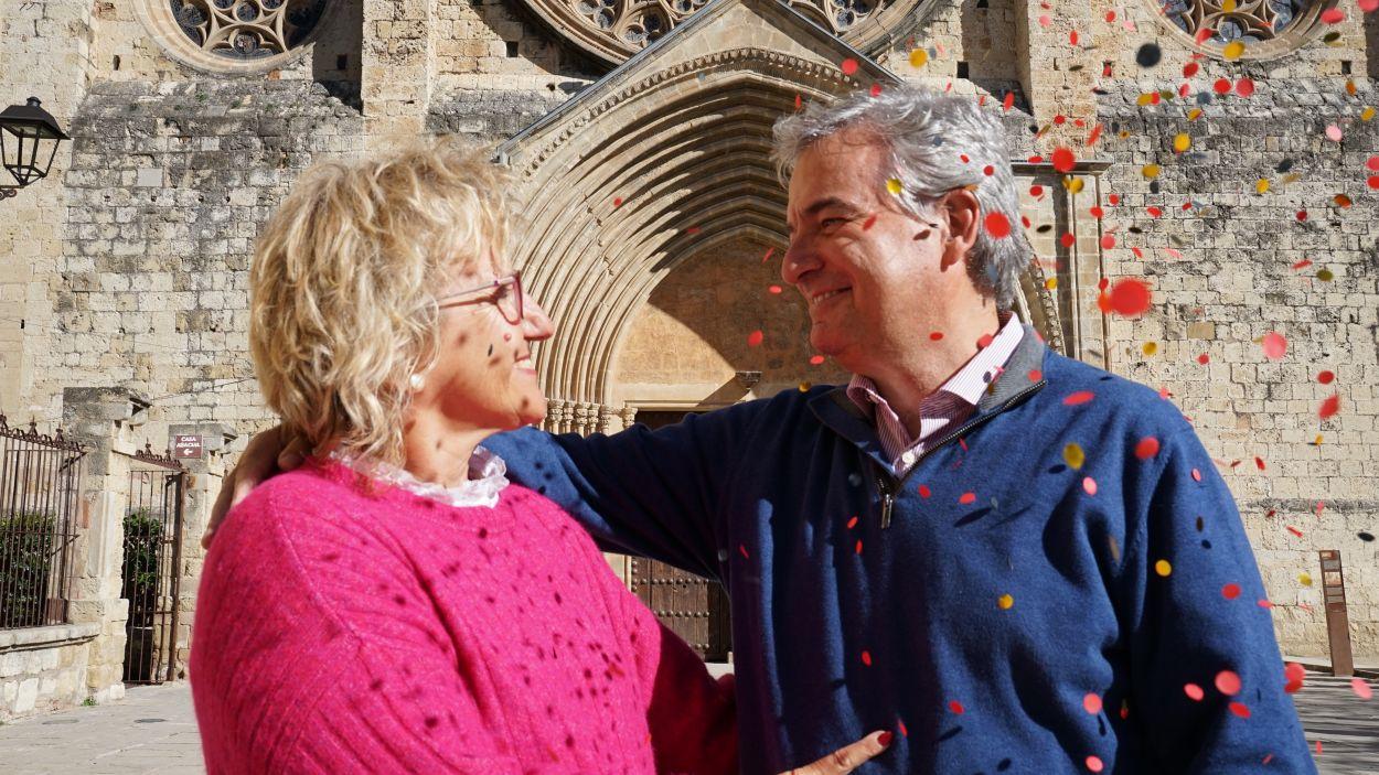 Belén Oria i Gerard Santomà porten 35 anys casats i 25 impartint els cursos prematrimonials a nuvis