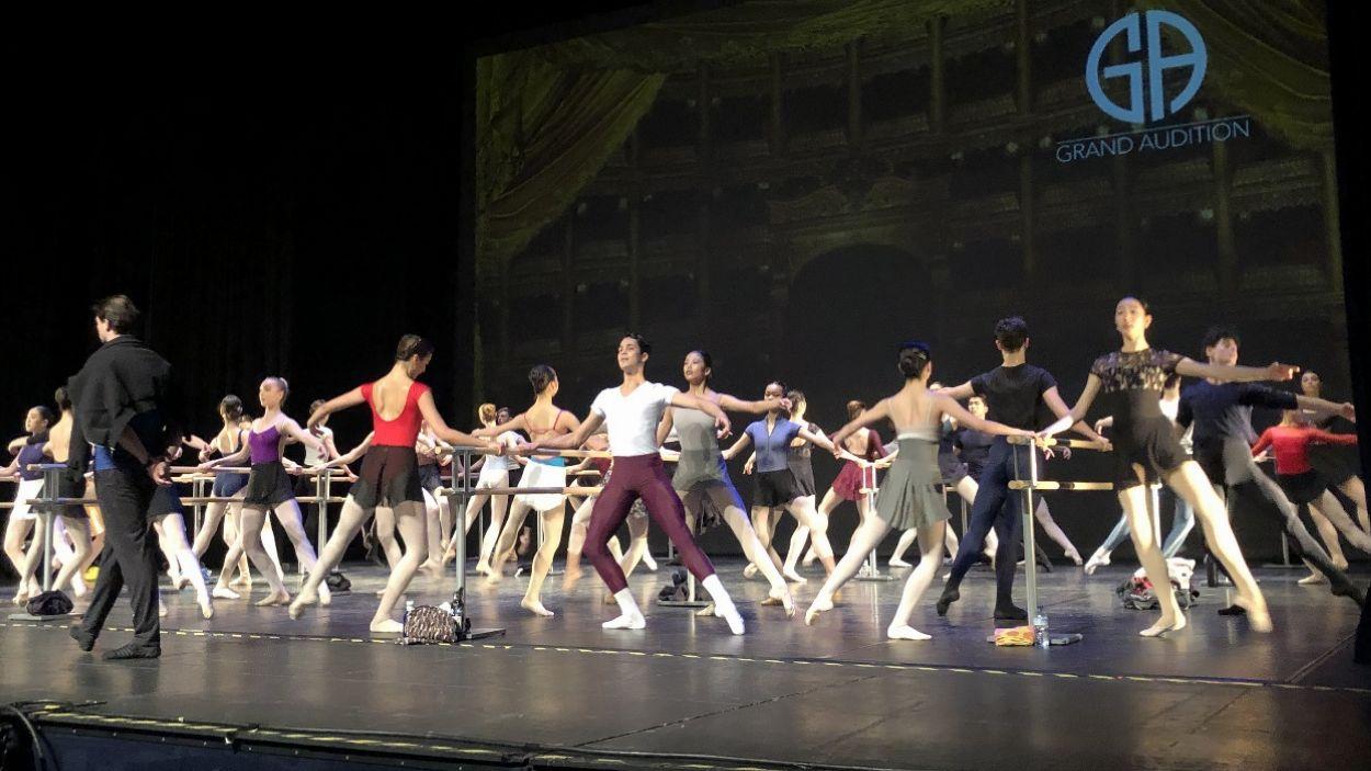 Més de 200 joves ballarins han passat pel Teatre-Auditori de Sant Cugat / Foto: Cugat Mèdia
