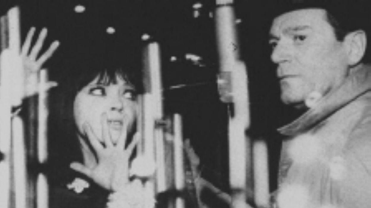 Constantine, amb Anna Karina