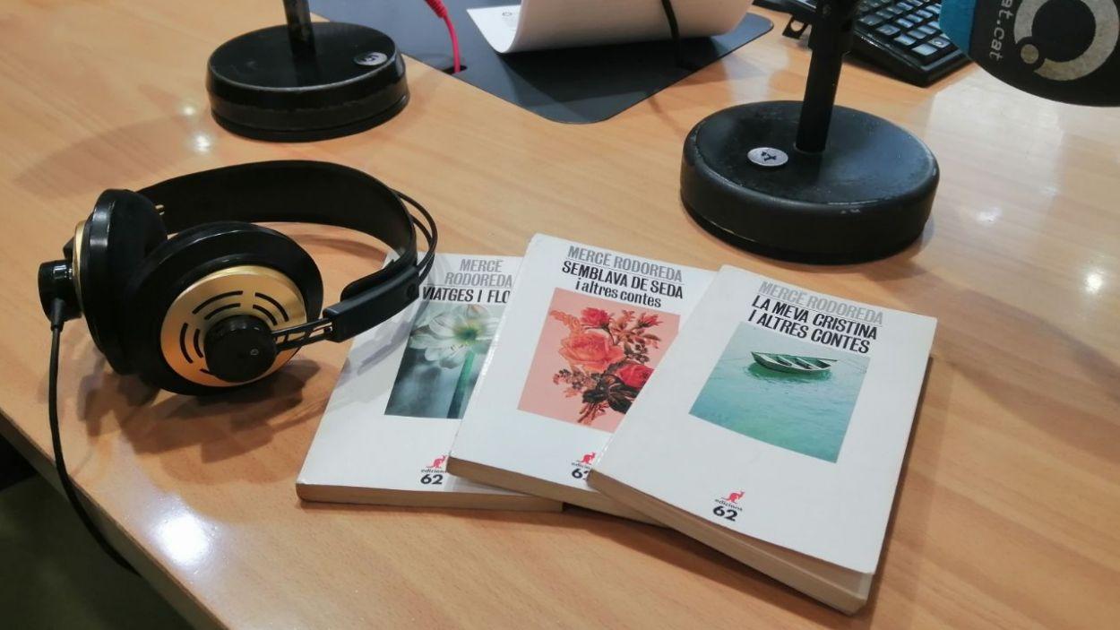 Els contes de Mercè Rodoreda, a la ràdio / Foto: Cugat Mèdia