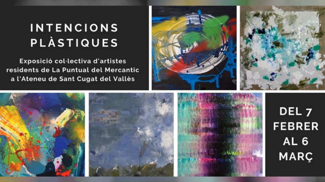 Exposició: 'Intencions plàstiques', dels artistes residents a la Puntual
