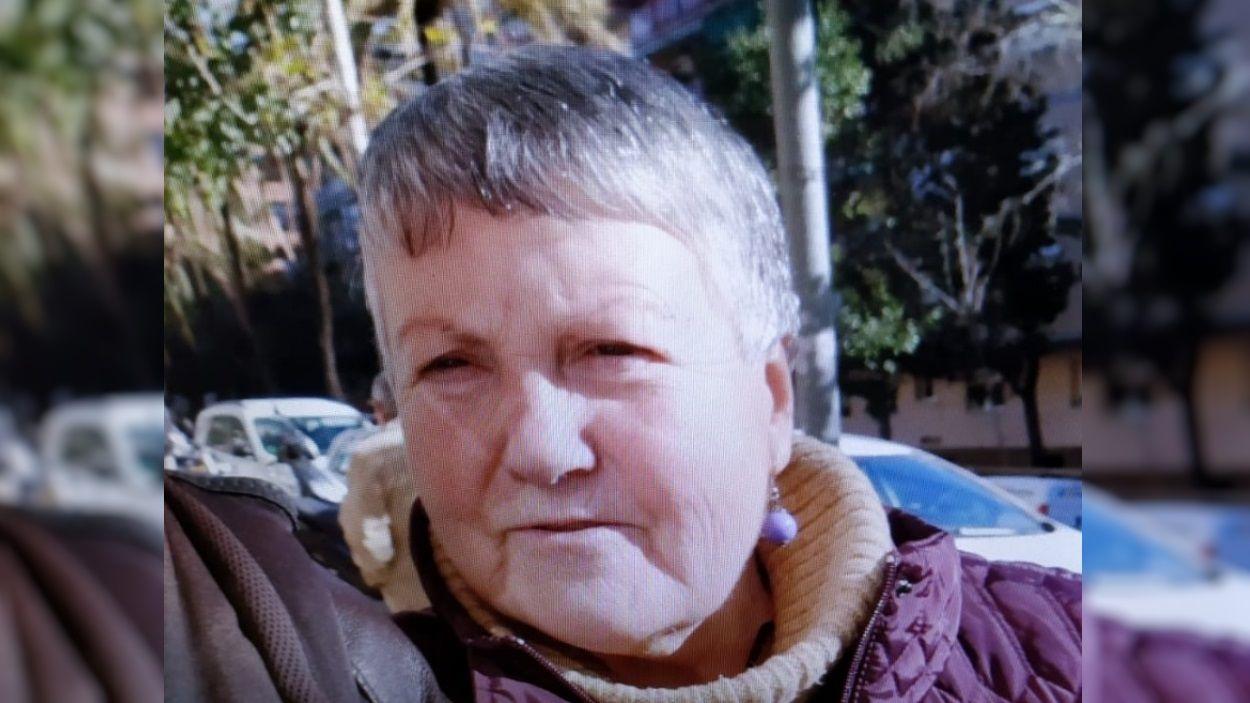 La dona té 68 anys i pateix la malaltia d'Alzheimer / Foto: Policia Local