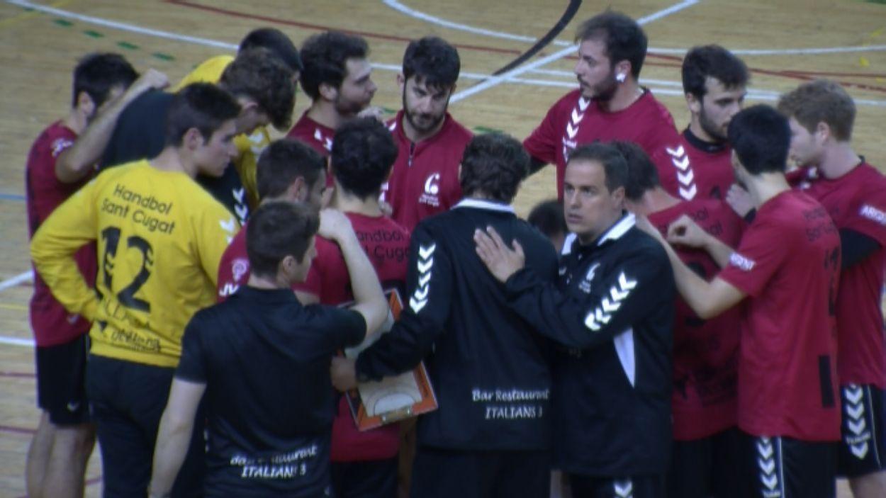 L'Handbol Sant Cugat té nou entrenador / Font: Cugat Mèdia