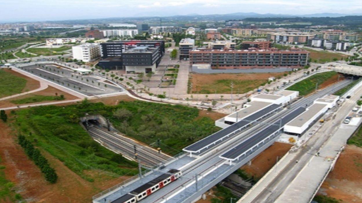 Una de les propostes del PEMV és construir dos nous intercanviadors ferroviaris a Sant Cugat / Foto: Territori