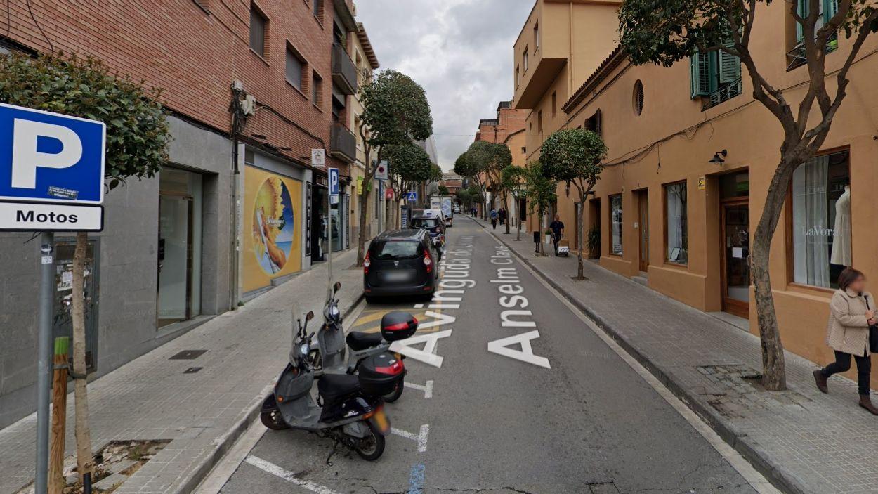 El tall serà a l'avinguda d'Anselm Clavé / Foto: Street View