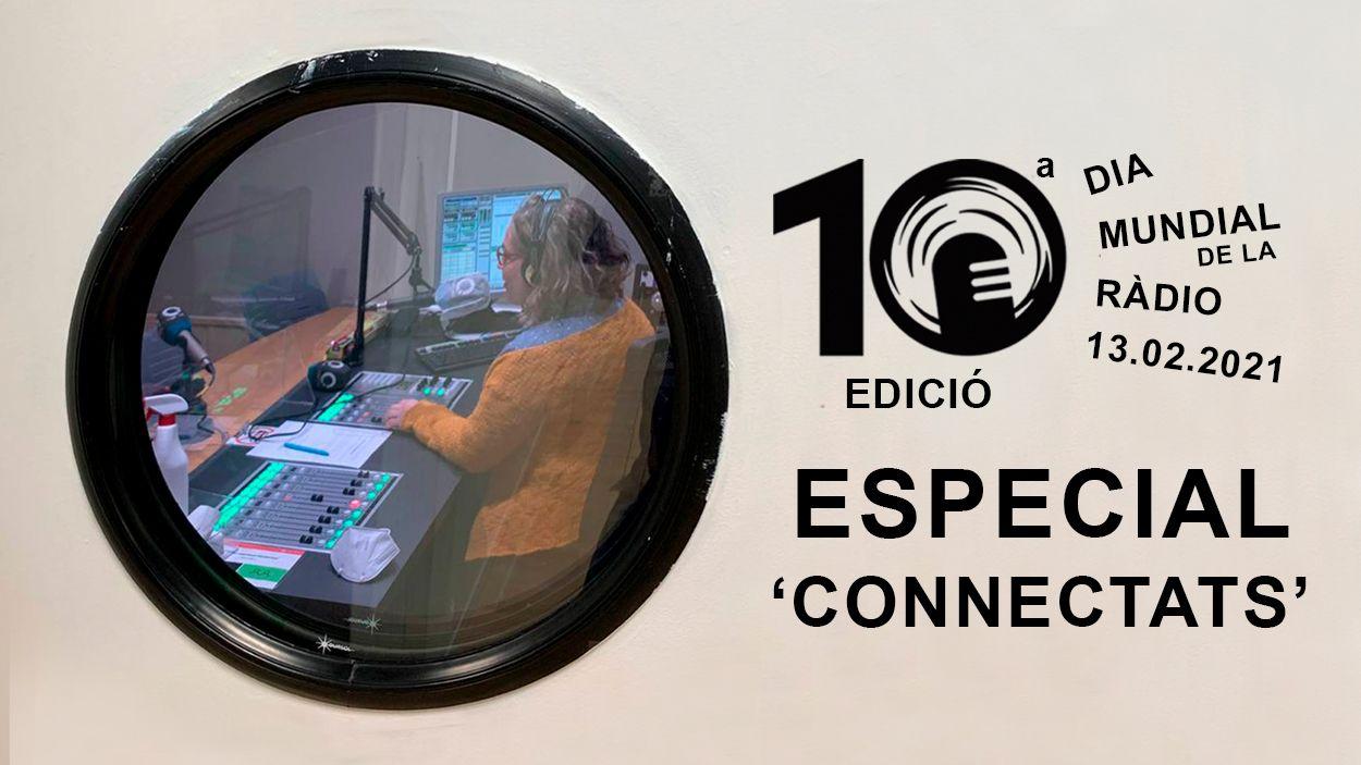 Ràdio Sant Cugat se suma al dia mundial del mitjà amb un programa especial del 'Connectats' aquest divendres