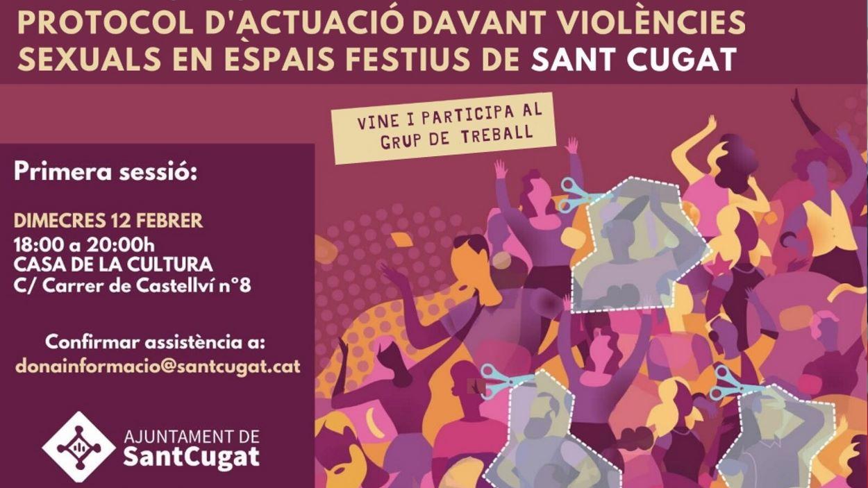 Comissió participativa: Protocol d'actuació davant violències sexuals en espais festius (1a sessió)