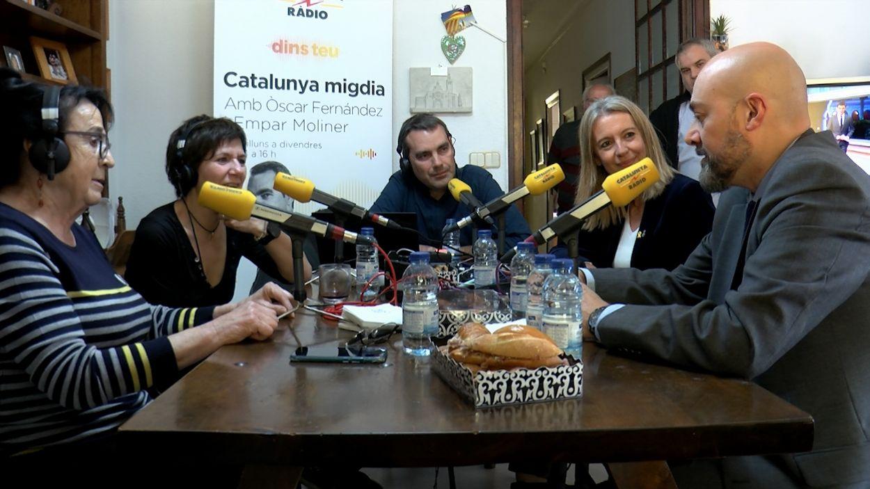 El Catalunya Migdia s'ha emès des de Sant Cugat / Foto: Cugat Mèdia