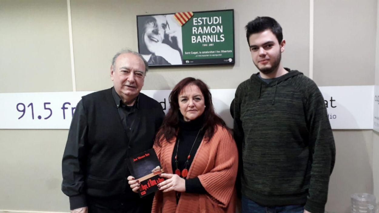 José Vaccaro, a l'esquerra, amb l'equip del programa / Foto: Cugat Mèdia