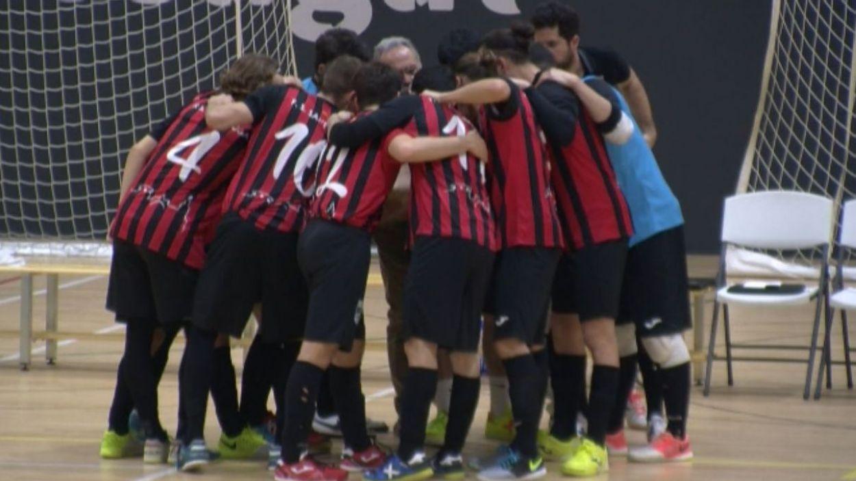 El Futbol Sala Sant Cugat ha iniciat la temporada amb triomf / Font: Cugat Mèdia