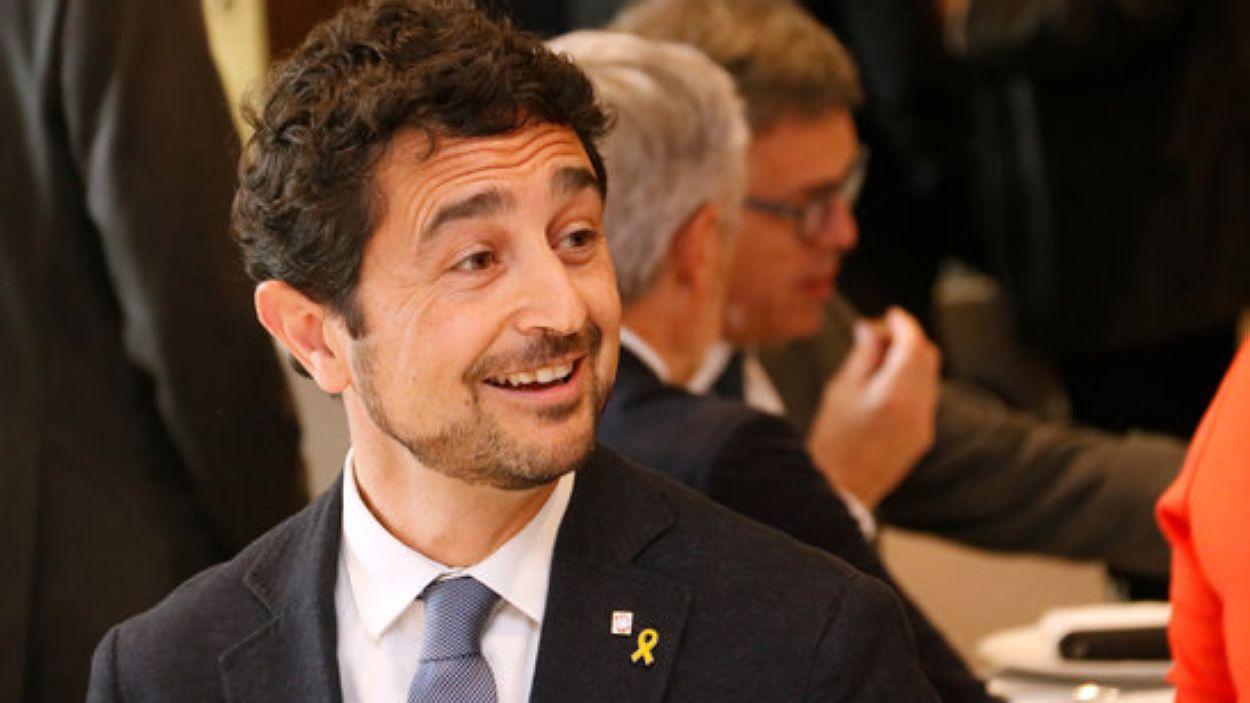 El conseller Damià Calvet / Foto: ACN