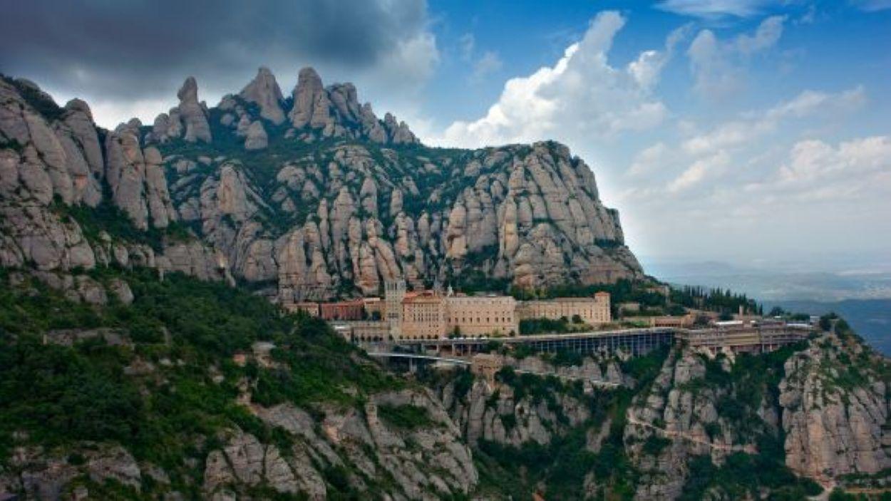 El Monestir de Montserrat, punt final de la Caminada / Font: Creative Commons