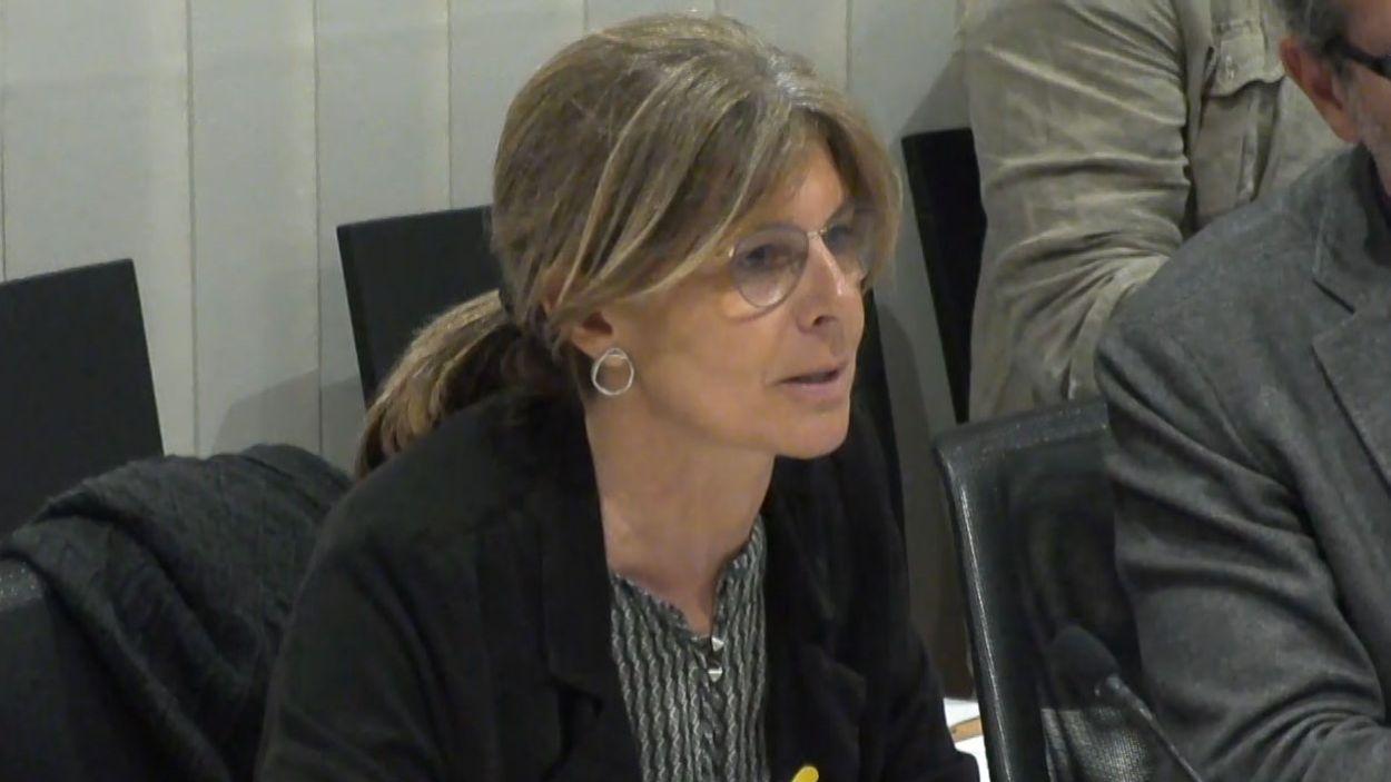 Carmela Fortuny, portaveu de Junts per Sant Cugat / Foto: Cugat Mèdia