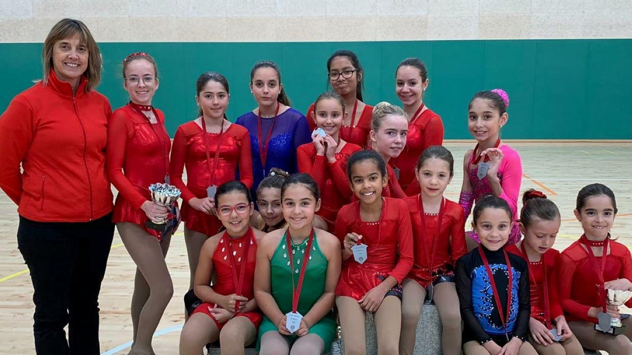 L'Escola de Patinatge Artístic de Sant Cugat presenta els seus equips / Font: EPA