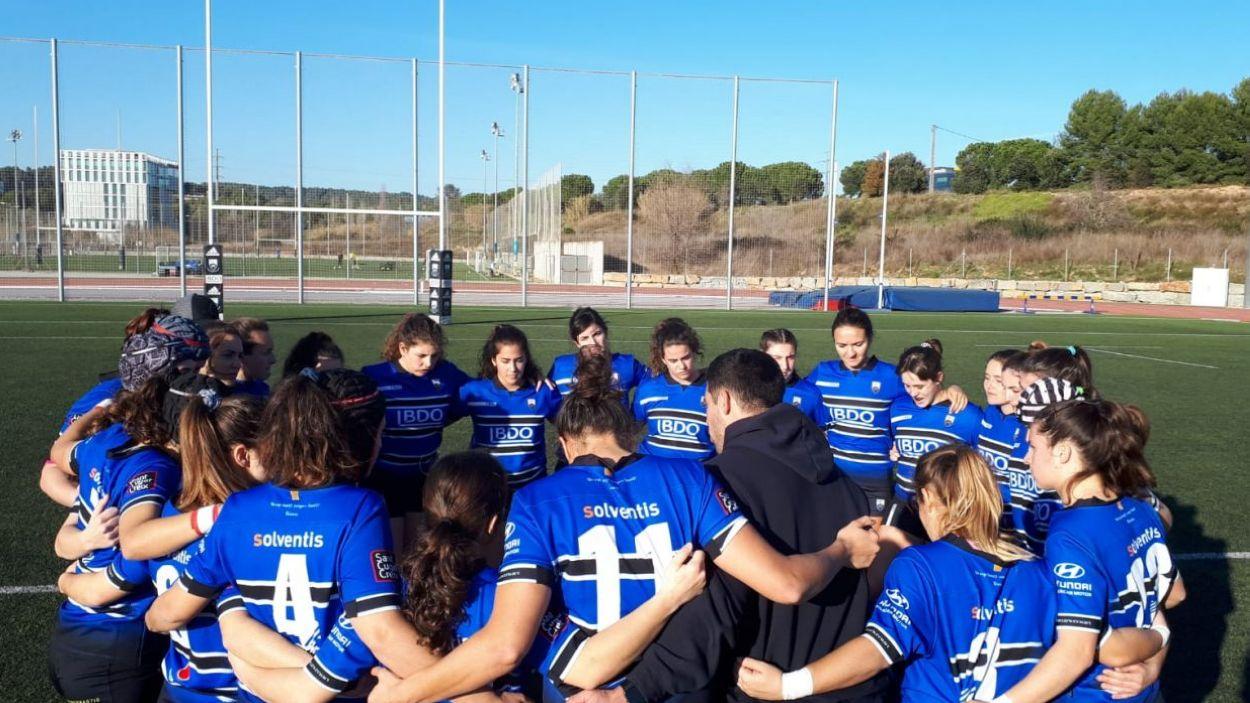 El femení del Rugby Sant Cugat, sense promoció d'ascens / Font: Rugby Sant Cugat