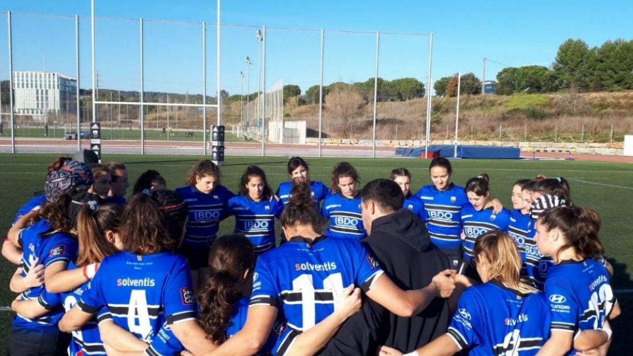 Imatge d'arxiu del Rugby Sant Cugat femení / Font: Rugby Sant Cugat