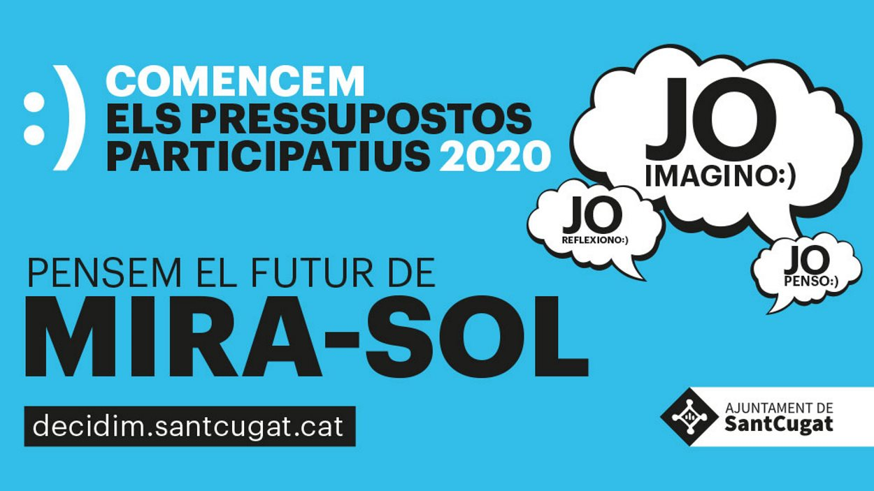 Pressupostos participatius 2020 - Taller de diagnosi Mira-sol