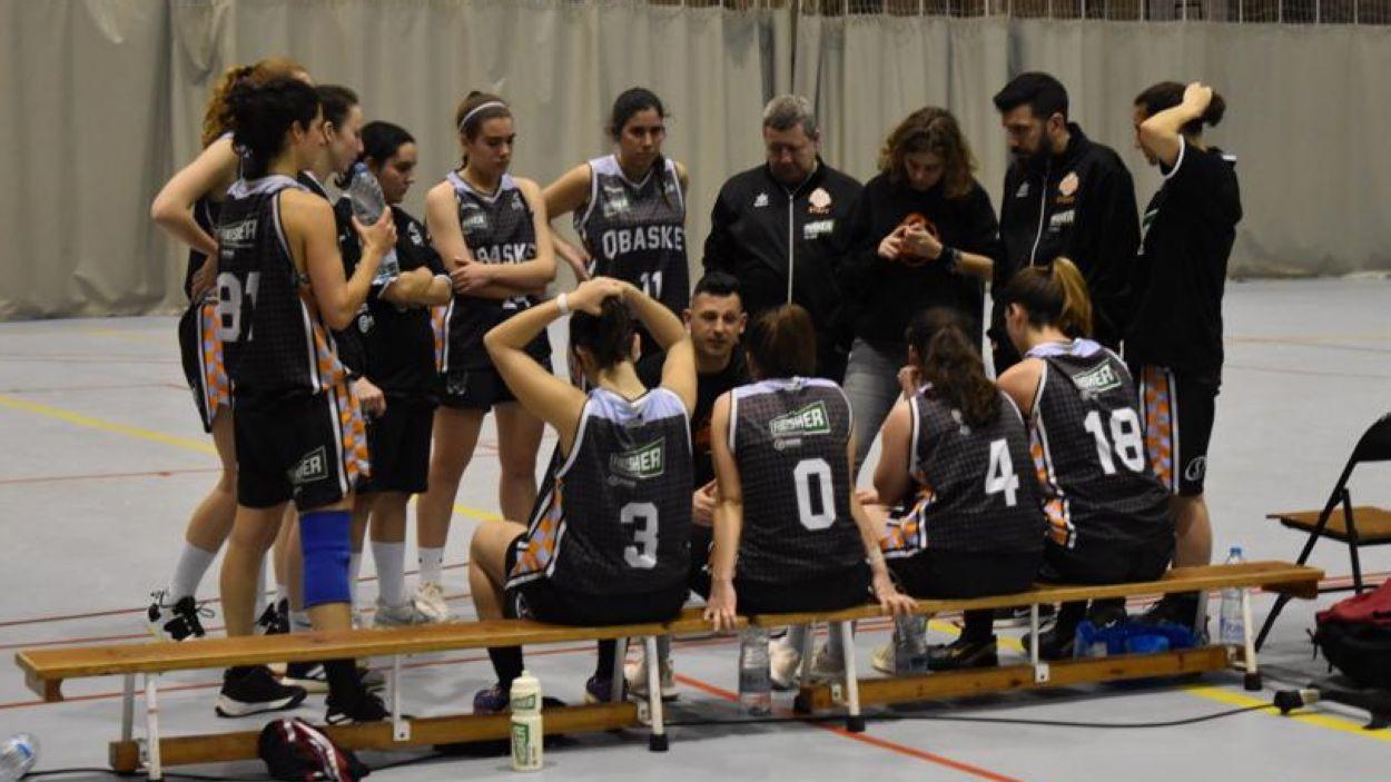 L'equip femení del Qbasket Sant Cugat / Font: Qbasket Sant Cugat