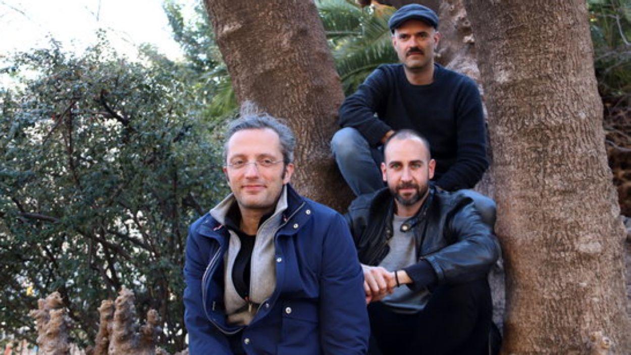 Blaumut, amb el cantant Xavi de la Iglesia, Vassil Lambrinov i Manuel Krapovickas / Foto: ACN