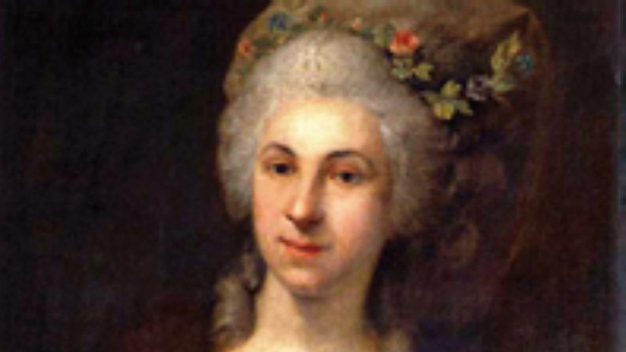 Marianne von Martínez, en un retrat de l'època