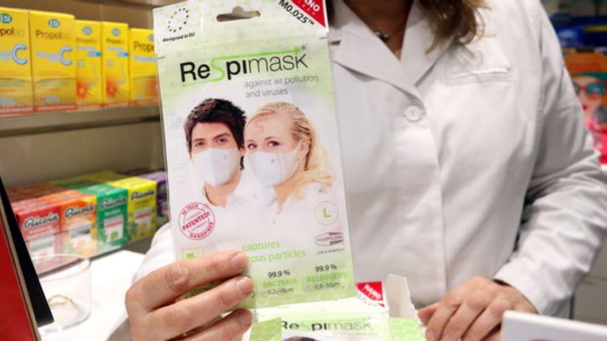 Les mascaretes s'han arribat a esgotar en algunes farmàcies / Foto: ACN