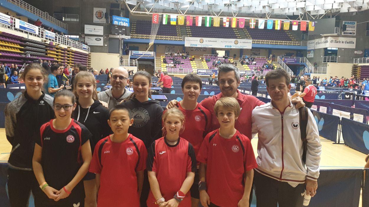 Imatge dels participants de la UESC al Torneig Estatal / Font: UESC