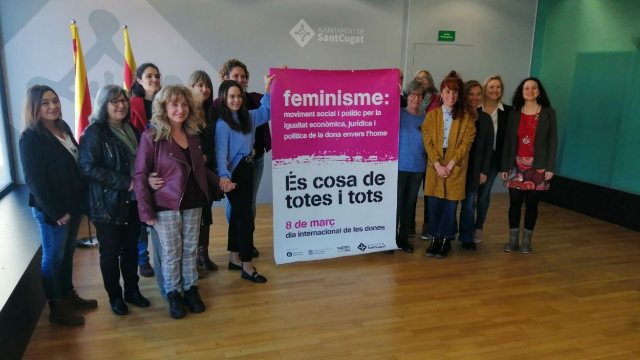Una desena d'entitats participen en el programa d'actes / Foto: Cugat Mèdia