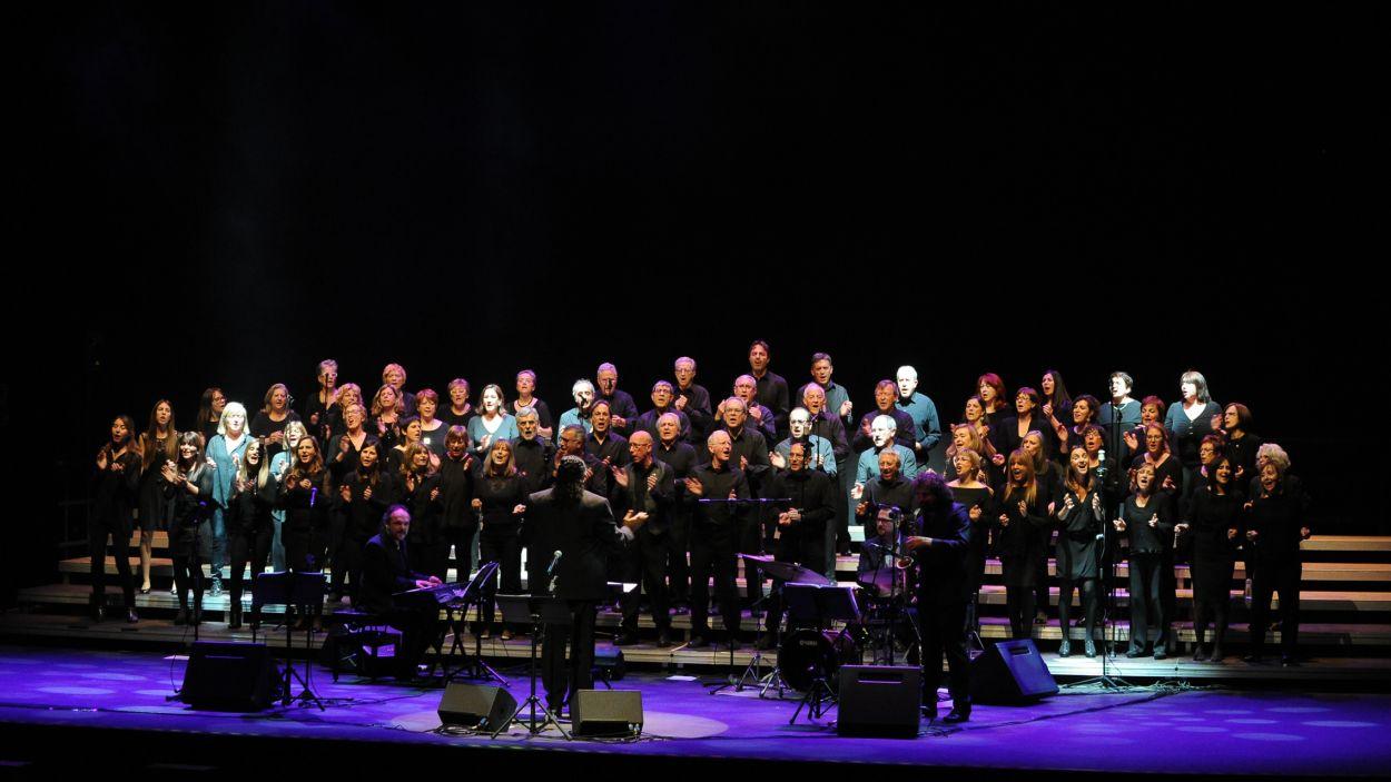Imatge d'una edició anterior del concert 'Música per a la solidaritat' / Foto: Localpres
