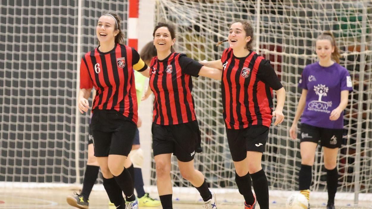El Futbol Sala Sant Cugat vol seguir escalant posicions a la classificació / Font: Chiqui Baena