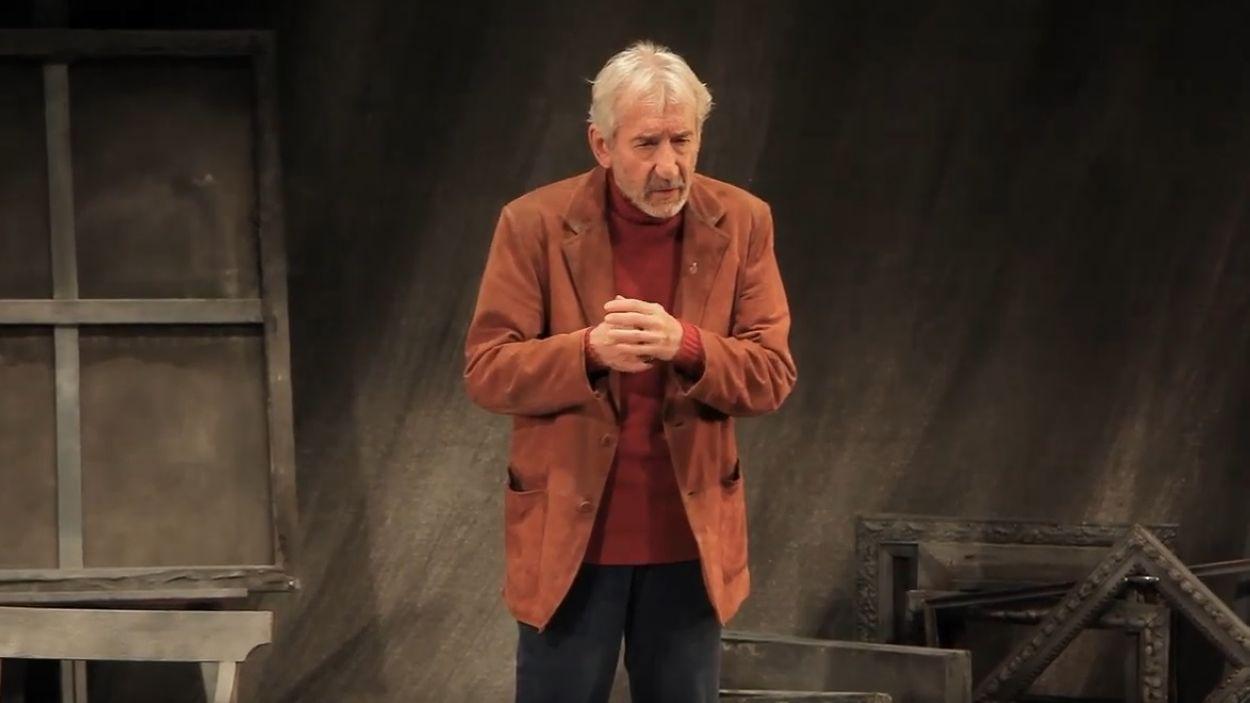 L'actor protagonitza aquesta adaptació de la novel·la de Delibes / Foto: Youtube Pentación Espectáculos